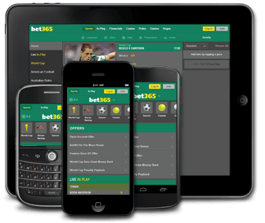 BET365 Mobile Devices