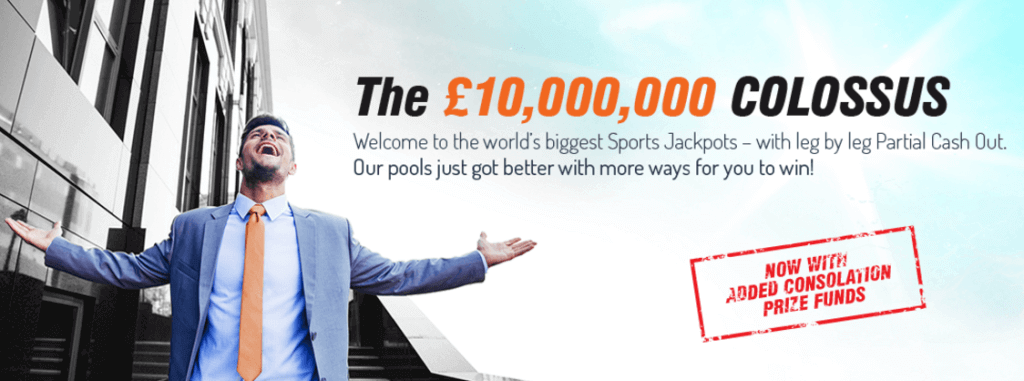 Colossus bets sports jackpots