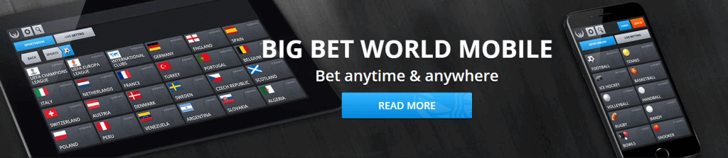 big bet world mobile app
