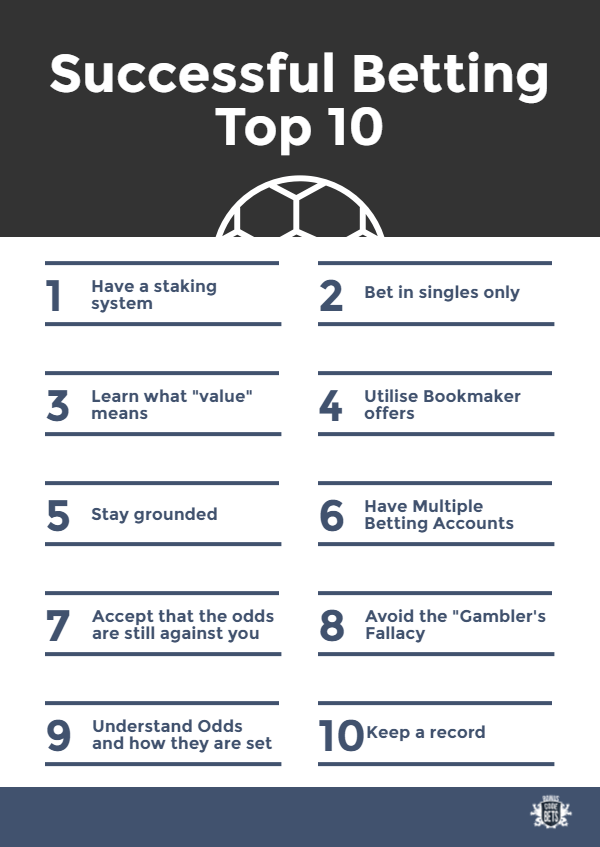 Top 10 betting guide for successful betting