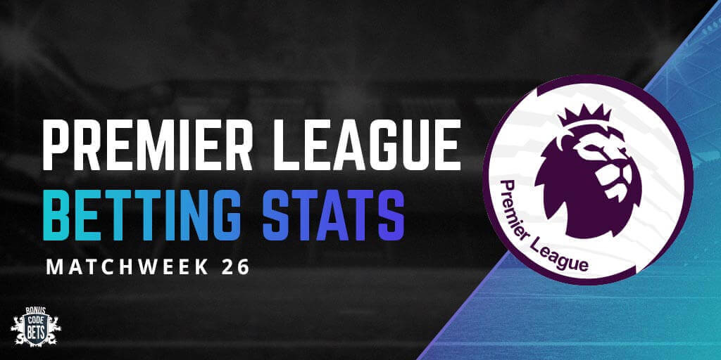 Betting stats - matchweek 26