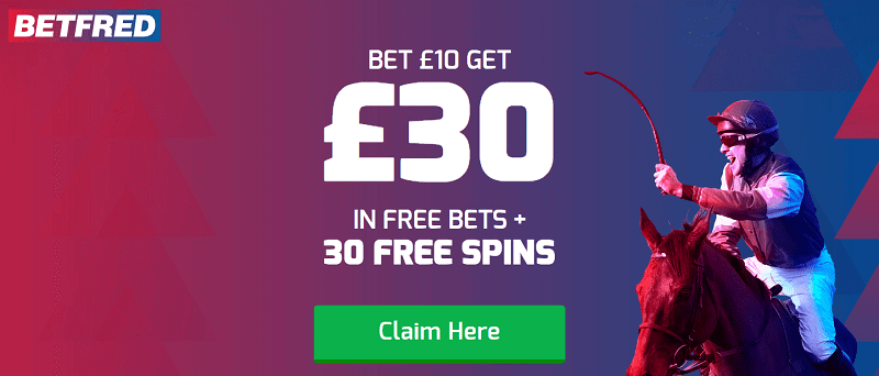 Betfred promo code offers