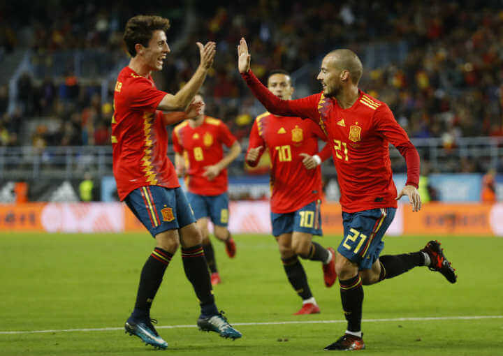 Spain World Cup Team