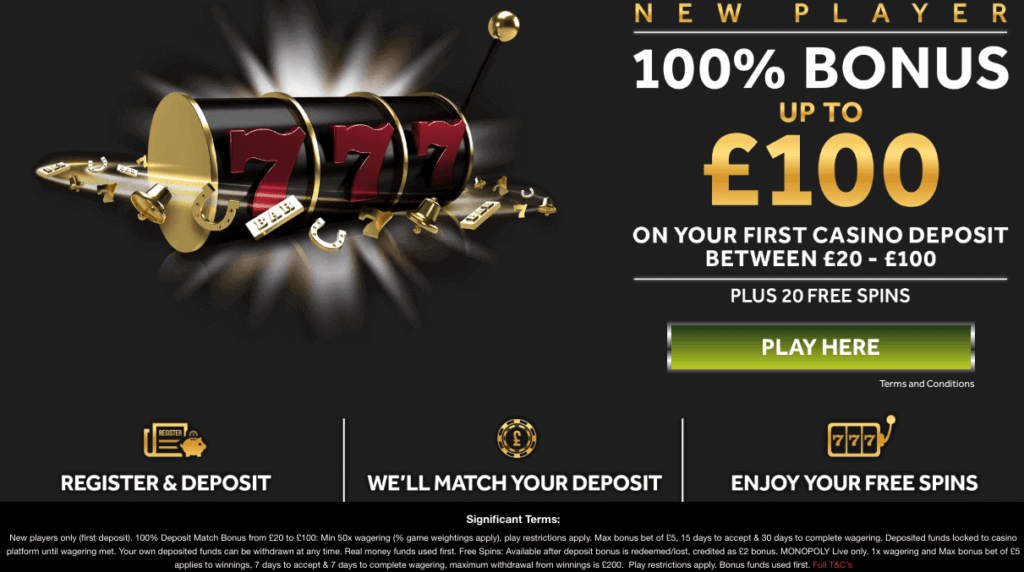 Genting Casino Promo Code 2019 | Use MAXPLAY | Up to £100 +