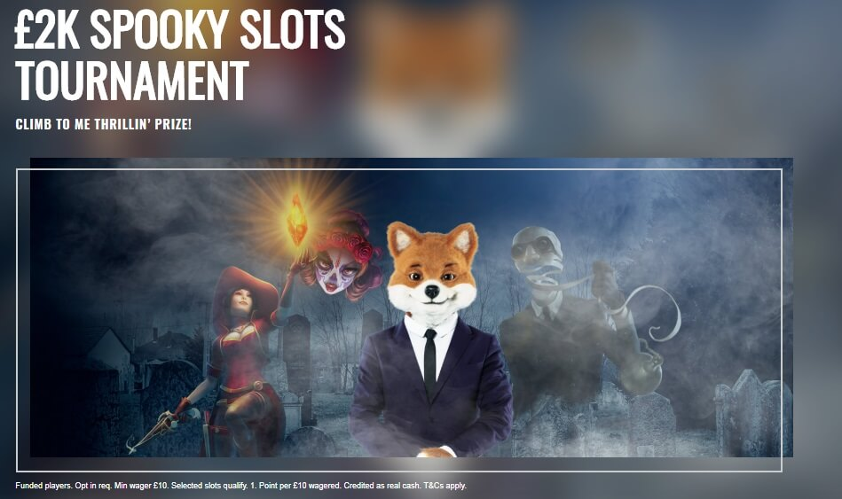 2k Spooky Slots Tournament