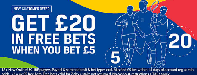 Coral Promo Code September 2019 - Get Your £20 In Free Bets