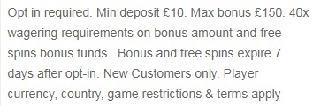William Hill Casino Club Bonus Terms Conditions