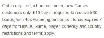 William Hill Games Promo Code Deposit Bonus Terms Conditions2