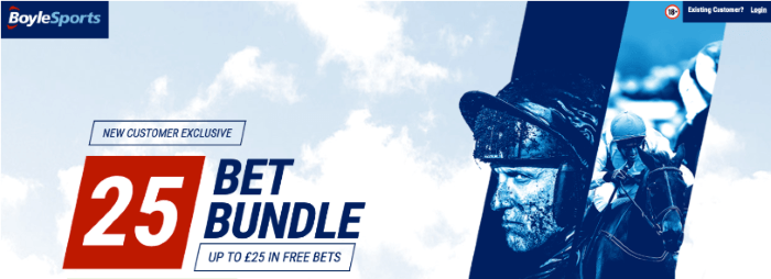 Boylesports Sign Up Offer