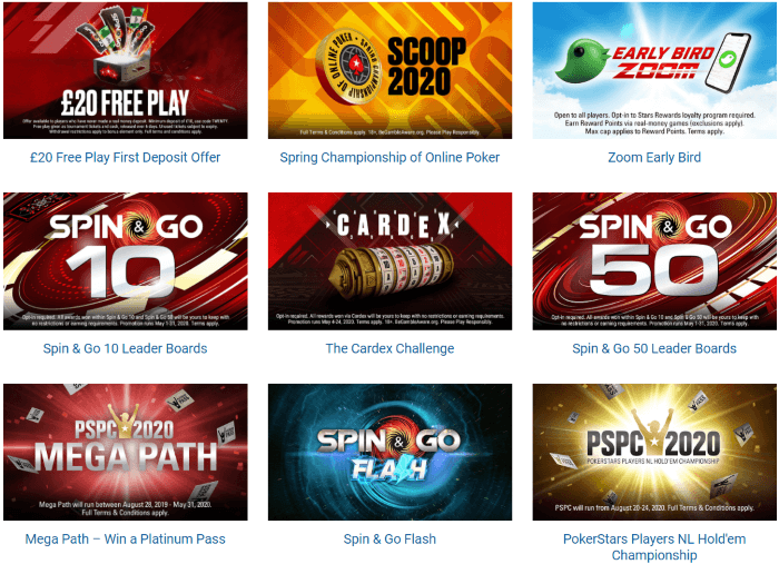 Pokerstars Promotion